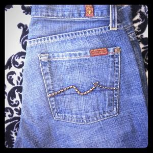 7 for all mankind stud jeans!