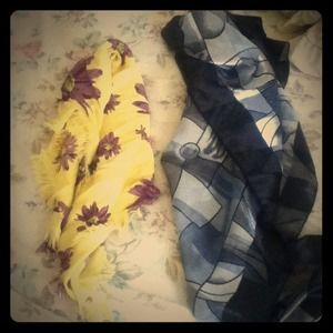 Accessories - Lot of two scarfs!