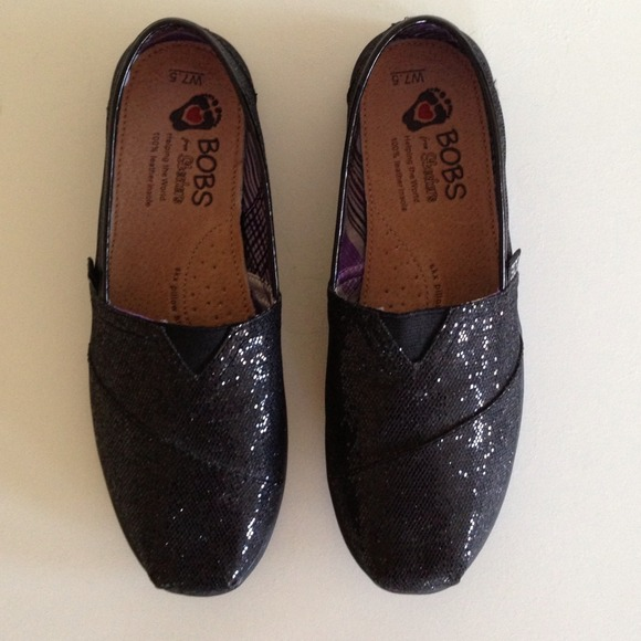bobs glitter shoes