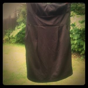 Strapless Little Black Dress size Large