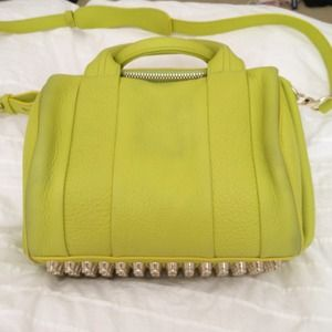 Alexander Wang Handbags - Alexander Wang rockie small in acid