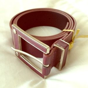 Accessories - Purple Belt with Silver Detail