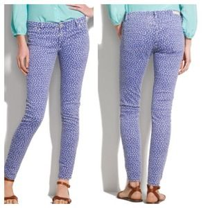 Blue polka dot jeans by BlankNYC from Madewell