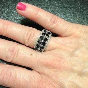 Jewelry - Dark midnight blue jewel ring