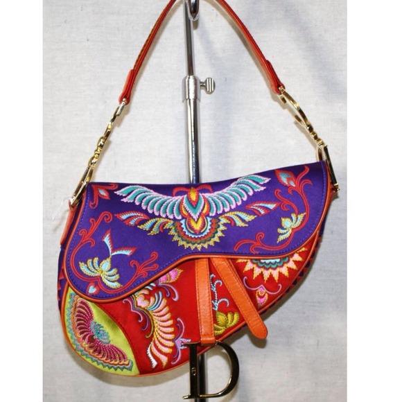 Dior Bags   Authentic Christian Saddle Bag   Poshmark 7bf65b975f