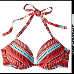 CLEARANCE New bikini push up bra. Medium size.
