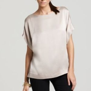 *NWT* Theory Rhagan Satin Blouse