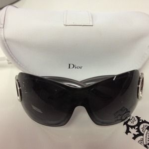 Authentic Dior sunglasses with case