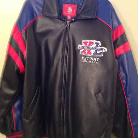 competitive price 9150e a4965 Super Bowl Leather Jacket