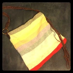 SALE!!!!Rainbow stripe cloth GAP bag