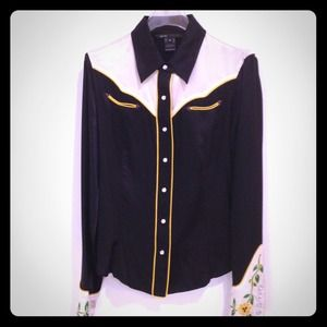 Marc Jacobs silk cowboy shirt