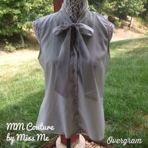 Miss Me Tops - 🎉Downtown chic party🎉MM Couture top