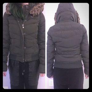 Hollister winter coat (super warm!!!)