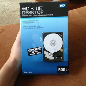 WD Blue Desktop internal hard drive, used for sale