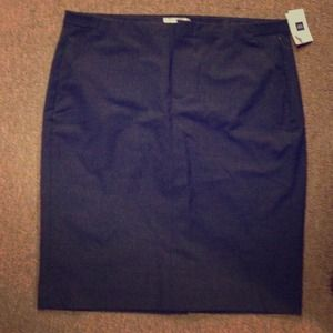 SOLD Dark gray Gap pencil skirt