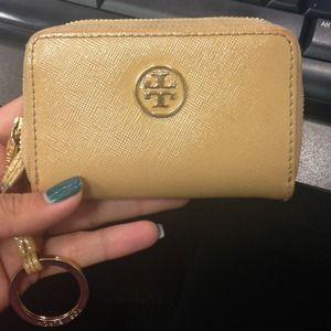 Tory Burch zip coin/card case