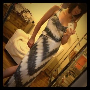 C&C California Dresses & Skirts - C&C California Racerback Tie-Dye Maxi