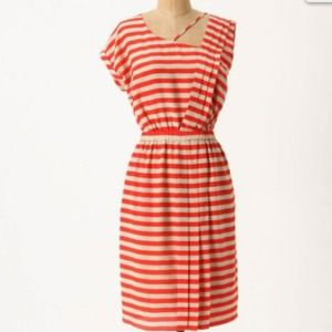 Leifsdottir Piano Stripe dress
