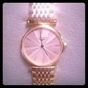 Longines  Accessories - Ladies Gold Longines Swiss Made Watch.