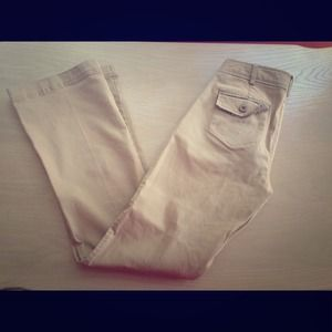 Stretch khaki pants
