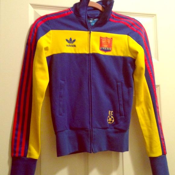 Adidas track giacca poshmark al massimo dell'ecuador