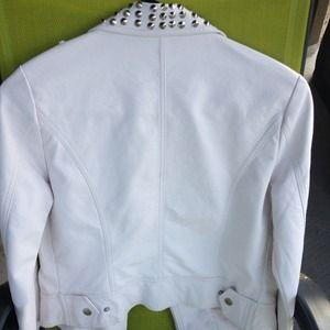 Forever 21 Jackets & Coats - NWOT Leather Studded Moto Jacket