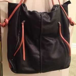 Christopher Kon Gatsby Tote Black Leather
