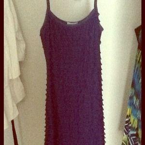 Dresses & Skirts - 🌟Reduced🌟Blue spaghetti strap dress.