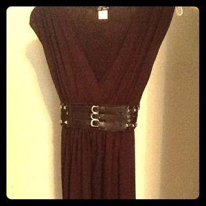 Dresses & Skirts - 🌟Reduced🌟Brown sleeveless dress.