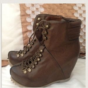 Jeffrey Campbell Shoes - Jeffrey Campbell K-2 Wedge Boots
