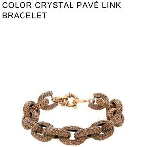 J. Crew Jewelry - ❌HOLD❌J.Crew Pave Link Bracelet