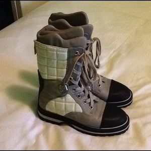Vintage Chanel Winter Boots (100% Authentic)