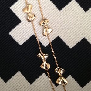J. Crew Jewelry - J.Crew Long Bow Necklace