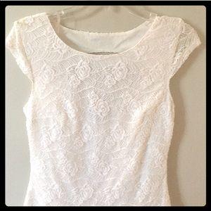 Dresses & Skirts - NWT  WHITE LACE DRESS