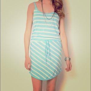 Shae Sleeveless Striped Dress Small