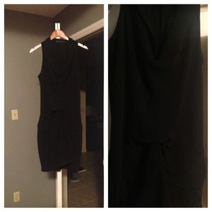 Black dress from Zara.