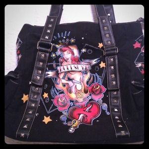$30- Rockabilly Tattoo Design Purse