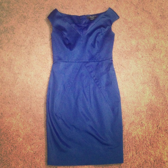 Guess by Marciano royal blue dress size 8