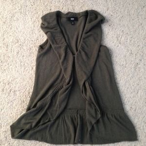 Cute olive green vest