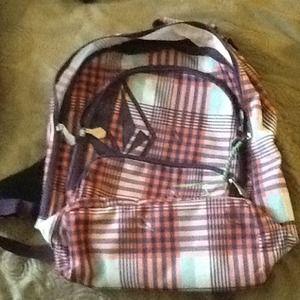Volcom school backpack.
