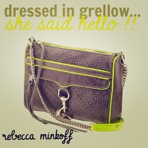 Rebecca Minkoff Handbags - REBECCA MINKOFF MAC Daddy Woven Leather Clutch