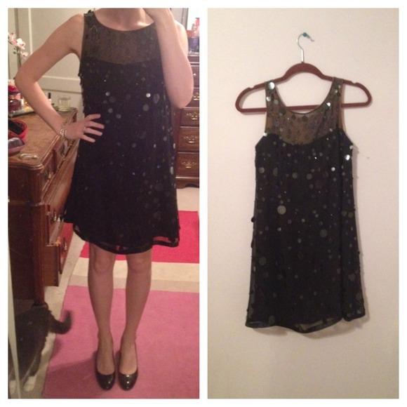 Nanette Lepore - ❌SOLD❌Nanette Lepore Black &amp Sequin Dress Sz 2 ...