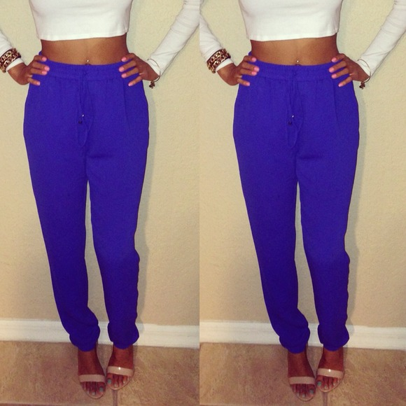 bc0e2063ddc Forever 21 Pants - MC Hammer royal blue pants