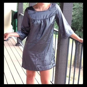 Mark by Avon Dresses & Skirts - Silver Charcoal Gray Shift Dress