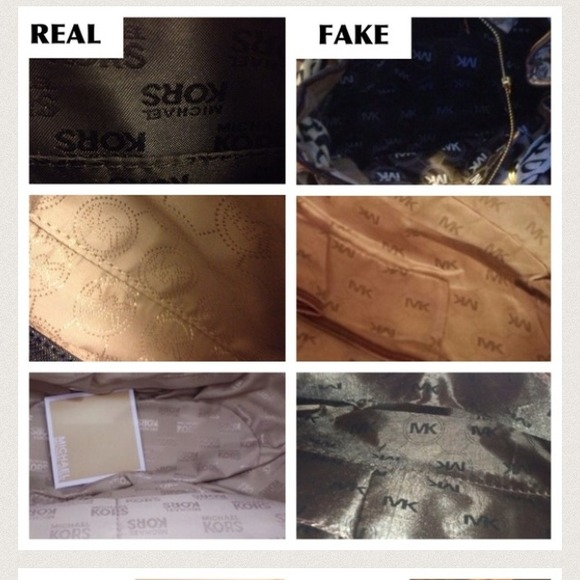 Michael Kors - How to spot a fake MK bag/item from ...