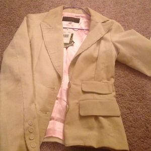 Juicy Couture Jackets & Blazers - Cream juicy couture coat