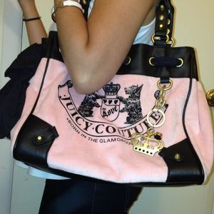 SoldAuthentic Juicy Couture Large Shoulder Bag