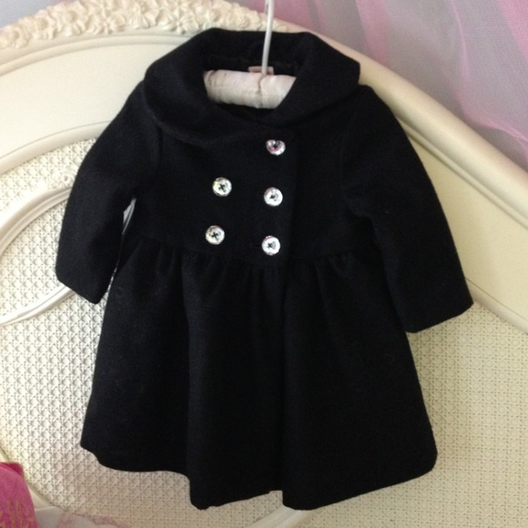 70% off gymboree Other - @Lovegrace Baby girl wool dress coat from