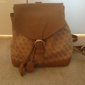 Dooney and Bourke backpack purse