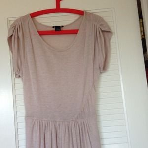 Club Monaco blush light sweater dress